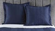 Quilted European Pillowcase 2 Pack