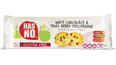 White Chocolate and Mixed Berry Macaroons 180g