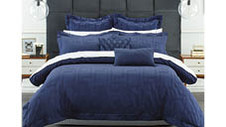 Egyptian Cotton Jacquard Quilt Cover Set and Cushion Pack - King Size