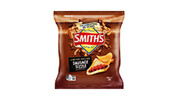 Smith's Crinkle Cut Chips Sausage Sizzle 150g
