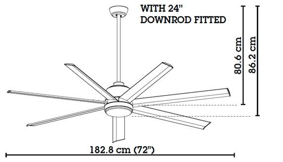 henley resort 72 u0026quot  ceiling fan with installation