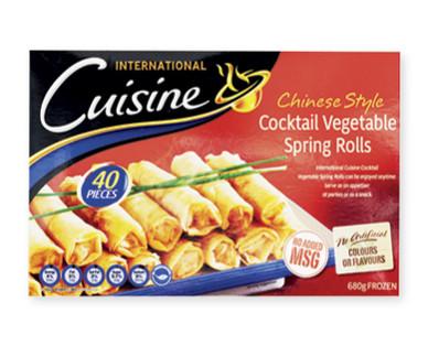 International Cuisine Spring Rolls 680g