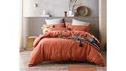 French Linen Quilt Cover Set – Queen Size