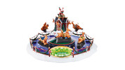 Lemax Musical Carnival Scene – Reindeer on Holiday