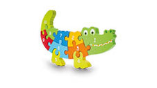 Wooden Animal Counting Puzzle