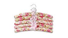 Assorted Satin Hangers 5pk