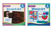 Scratch, Mosaic or Foil Art
