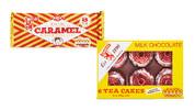 Tunnock's Caramel Wafers 8pk/240g or Tea Cakes 6pk/144g
