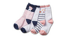 Baby Socks 4pk
