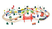 95pc Wooden Train Set or Accessories Set