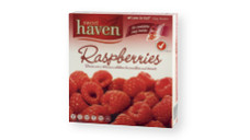 Sweet Haven Raspberries 500g