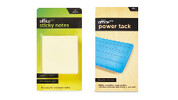 Sticky Notes, Power Tack 75g or Scissors