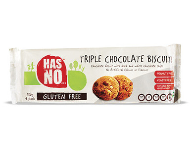 Gluten Free Triple Chocolate Biscuits 180g