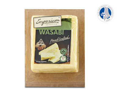 Emporium Selection Wild Wasabi Handcrafted Cheese 170g