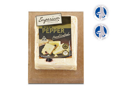 Emporium Selection Bush Pepper Handcrafted Cheese 170g