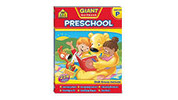 School Zone Preschool Workbook