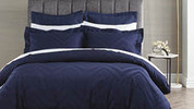 400 Thread Count Jacquard Quilt Cover Set – King Size