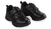 Premium Velcro Leather Joggers