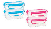 Rectangle Snack Containers