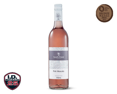 South Point Estate Pink Moscato 2013