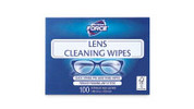Lens Cleaning Wipes 100pk