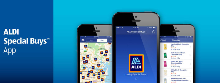aldi shopping app screenshot