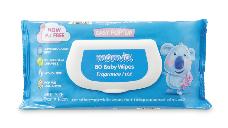 Mamia Baby Wipes Fragrance Free 80pk