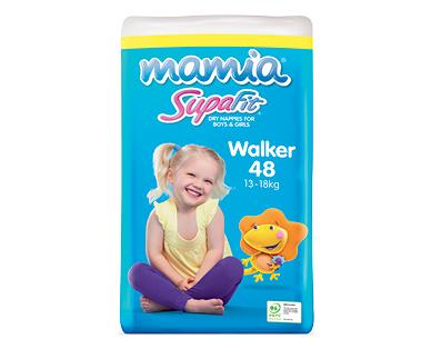 Mamia Unisex Walker Nappies 13-18kg 48pk