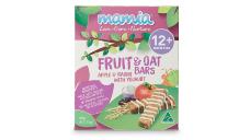 Mamia Fruit & Oat Bars 90g - Apple & Raisin with Yogurt 12+ Months