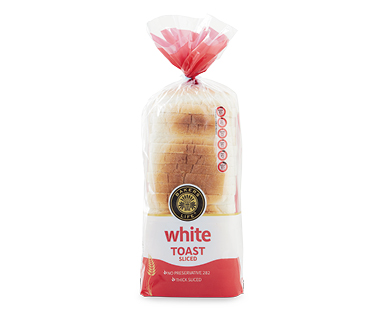 Baker's Life White Sliced Bread for Toast 650g / 700g