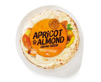 Emporium Selection Apricot & Almond Cream Cheese 200g