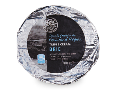 Emporium Selection Triple Cream Brie 200g