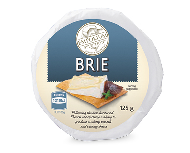 Emporium Selection Brie 125g