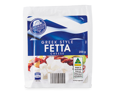 Emporium Selection Greek Style Feta Cheese 200g