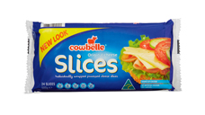 Cowbelle Original Cheese Slices 24pk/500g