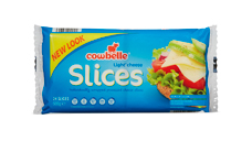 Cowbelle Light Cheese Slices 24pk/500g