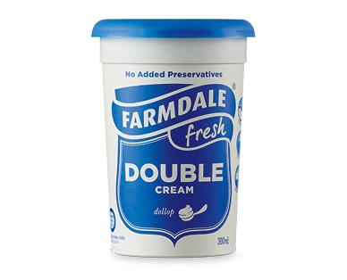 Farmdale Double Cream 300ml