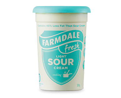 Farmdale Light Sour Cream 300ml