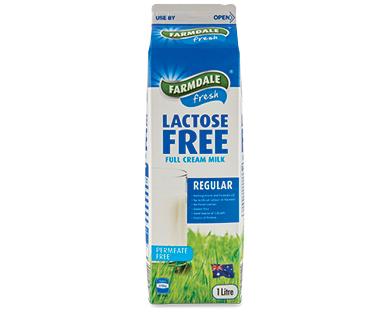Farmdale Lactose Free Full Cream Milk 1L