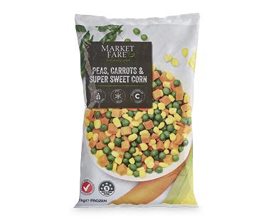 Market Fare Peas, Carrots & Corn 1kg