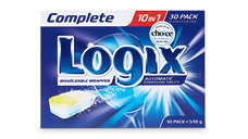 Logix Complete Dishwashing Tablets 30pk