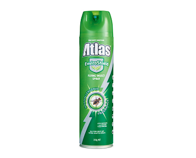 Atlas EnviroShield Flying Insect Spray 350g