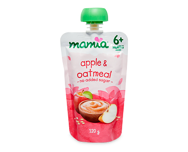Mamia Baby's First Breakfast 6mth+ Apple & Oatmeal