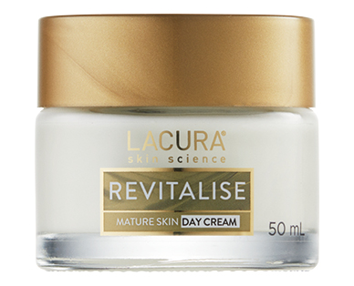 LACURA® Revitalise Face Cream for Mature Skin Cream Day 50ml