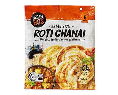 Urban Eats Roti Chanai 6pk/360g