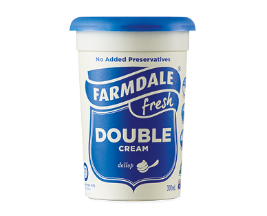 Farmdale Double Cream 300ml