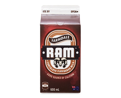 Farmdale RAM Chocolate Flavoured Milk 600ml