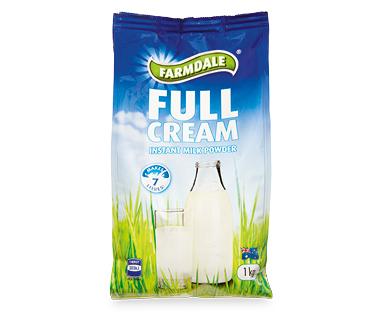 Farmdale Full Cream Milk Powder 1kg