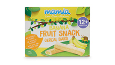 Mamia Fruit Snack Cereal Bars Banana 12+ months 128g