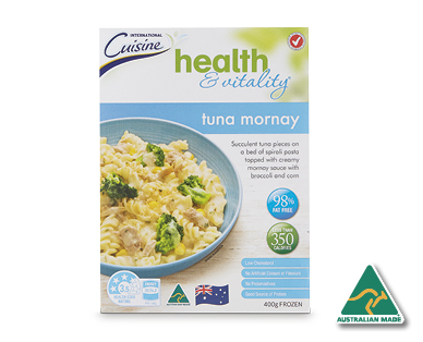 Health & Vitality Tuna Mornay 400g